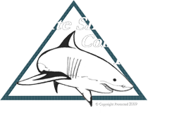 Conservation of the Great White Shark Logo